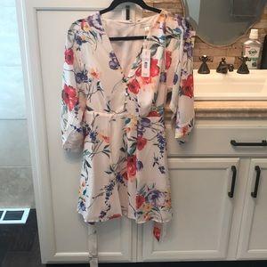 Yumi Kim Floral Kimono Wrap